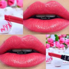 HVLS14 Rags To Riches NYX High Voltage Lipstick - @nyxcosmetics Perfect for summer.