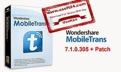 Wondershare MobileTrans 7.1 + Patch Activator Full Version 2015 - Wondershare MobileTrans is a very useful software now a days when you buy a new phone or want to transfer all of your old phone or others phone data to a new phone or another phone. With this Crack Full Version Wondershare MobileTrans 7.1 you can transfer not only contacts but also all of your text messages, call logs, pictures, music, videos, apps, games and others data. #Wondershare_MobileTrans