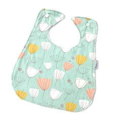 £10 Inc shipping - We call them Super Bibs because thats what they are; super large, super absorbent and perfect for any super messy baby or toddler. Our bibs are not only longer and wider but we have taken extra care to ensure they are wide across the shoulders to provide great coverage and are backed with