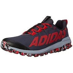 adidas Vigor 6 TR M Running Shoes Red & Black D69458 Multiple Sizes 9