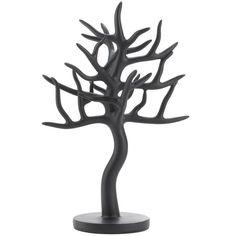Black Tree Jewelry Stand