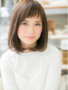 モッズ ヘア 越谷店(mod's hair) ベビーバング+王道ナチュラルボブa