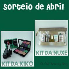 GLOW Beauty Blog: [SORTEIO] SORTEIO DE ABRIL - 2 prêmios / 2 ganhado...