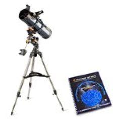 Celestron 31051 with Skymaps Celestron AstroMaster 130EQ MD Telescope