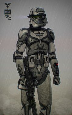 The first new original character of this year - ARC-trooper Vega from good old Triple Arrow bunch - one more Wild Clone. With a minimalistic clone trooper gear come some unique accessories, th. Star Wars Fan Art, Star Wars Concept Art, Star Wars Clone Wars, Star Wars Pictures, Star Wars Images, Republic Commando, Star Wars Design, Galactic Republic, Star Wars Wallpaper