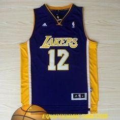 Adidas Camiseta nba baratas online Los Angeles Lakers Howard #12 purpura nueva pano €19.99