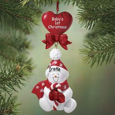 personalized babys first christmas snowman ornament zoom babys 1st christmas baby first christmas ornament