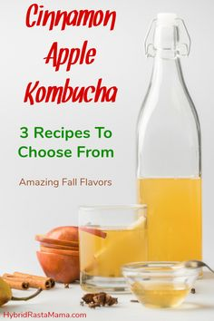 Why not put the two together and created some delicious apple pie kombucha! Kombucha Flavors, Kombucha Recipe, Homebrew Recipes, Healthy Drinks, Healthy Foods, Health Eating, Fermented Foods, Cinnamon Apples, Kefir