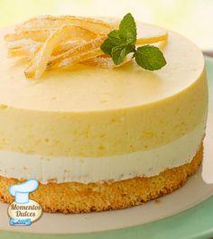 #Receta light de Silvia Valdemoros: Minitorta de mango y queso blanco