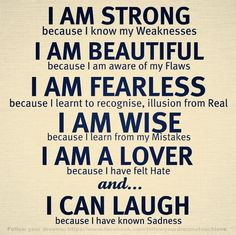 I Am.... | #quotes #sayings #motivational