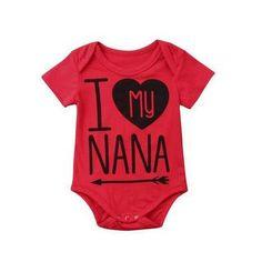 I Love My Nana ❤️ #babyonesie #babyclothing