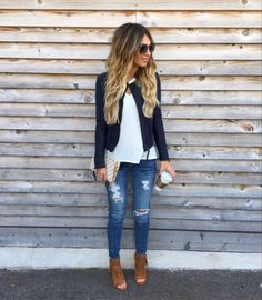 This whole outfit! Casual Fall Outfits, Fall Winter Outfits, Autumn Winter Fashion, Spring Outfits, Cute Outfits, Spring Fashion, Look 2018, Everyday Outfits, Fashion Outfits