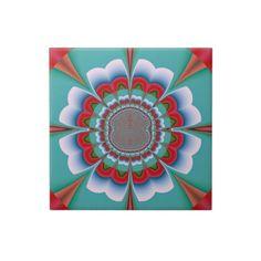 #Funky #Flower #Ceramic #Tiles