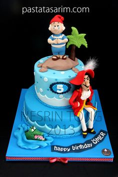 CAPTAIN HOOK CAKE | Flickr - Photo Sharing!