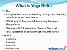 Yoga Nidra - the Ancient Art of Yogic Relaxation