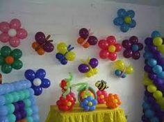 Resultado de imagem para decoraçã com baloes