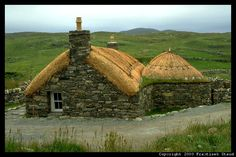 Croft house in Scotland