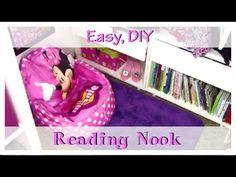 Easy DIY Reading Nook!   simplenaturalhealthytips