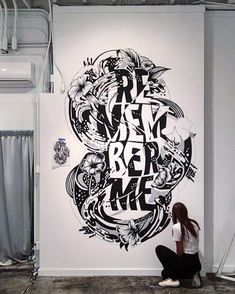 If you are in LA @mrseaves101 has an exhibition on at LCAD gallery in Laguna Beach until the 26th | #typegang if you would like to be featured | typegang.com | typegang.com #typegang #typography