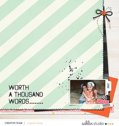 Worth A Thousand Words | February '21 Featured Products | Sahlin Studio | Digital Scrapbooking Designs