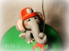 Fondant Elphie from City of Friends / Elfie fra Vennebyen