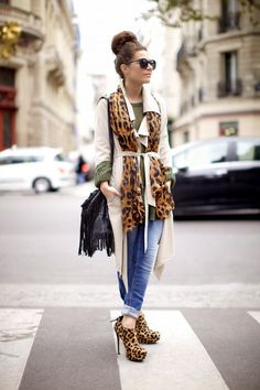 leopard accents #fall