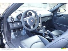 2008 Porsche Cayman S Porsche Design Edition 1 interior