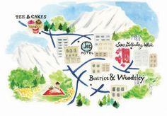 illustrated map by Stefanie Merullo