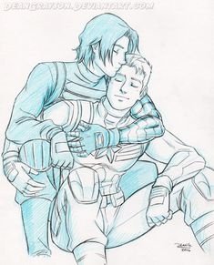 Commission - stucky kisses by DeanGrayson