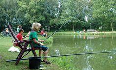 Vissen is voor jong en oud! Zo ook op de Leistert....