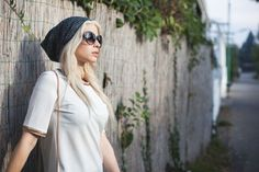 Thomas Unterberger Photography, Sophie Andersen Styling - old danube outfit, cateye sunnies, beanie, white shirt, chain details