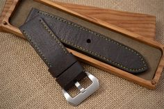 handmade leather watch straps - Google Search