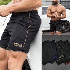 Summer Running Shorts Men Jogging Beach Loose Shorts Stripe Mens Gym Men Shorts Crossfit Sport Gyms Short Pants Men Casual Shorts