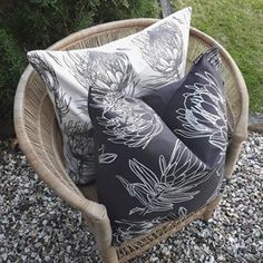 Protea Flower, Flowers, Scatter Cushions, Throw Pillows, Ethical Brands, Artisan, Patio, Collection, Toss Pillows