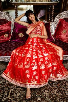 The Wedding Diaries by Anita Dongre - Sangeet - Benaras collection