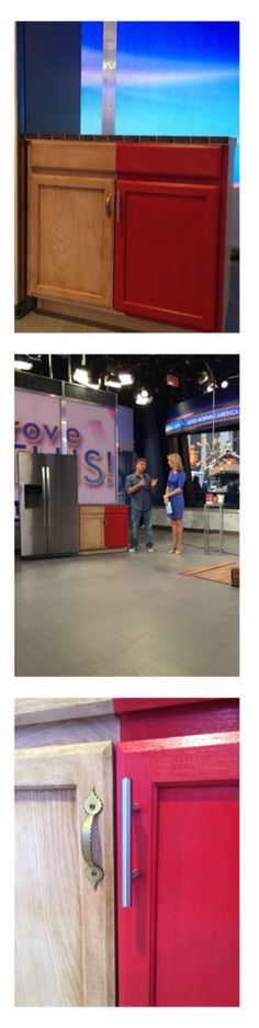 Stephen Fanuka stopped by GMA this morning with great tips for savings in home renovation!  Paint your cabinets and change out hardware for a big transformation that won't break the bank! Click on the picture for more of Stephen's tips!  #GMAImproveThis