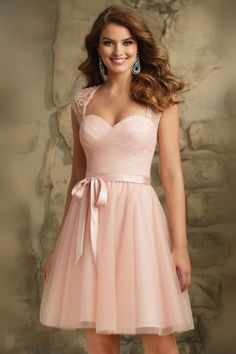Cheap bridesmaid dresses sexy, Buy Quality bridesmaid dresses directly from China bridesmaid dresses plus Suppliers: Junior Bridesmaid Dresses Sexy V Neck Cap Sleeves Open Back Cheap Wedding Party Dresses Short Plus Size Dresses Mori Lee Bridesmaid Dresses, Tulle Bridesmaid Dress, Designer Bridesmaid Dresses, Tulle Dress, Homecoming Dresses, Strapless Dress Formal, Lace Dress, Dress Up, Tulle Lace
