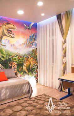 Шторы и декор в детскую комнату. Декоратор Шаймарданова Лилия.