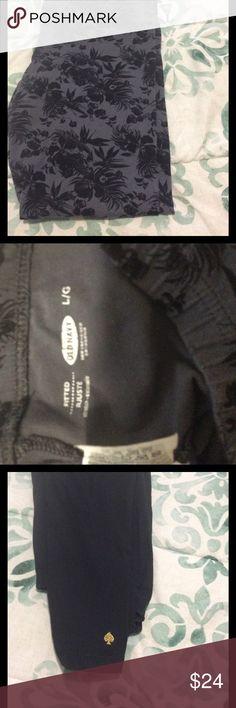 Leggings bundle - Old Navy & Kate Spade ♠️ Preloved - gray pattern and solid black kate spade Pants Leggings