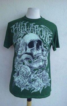 Billabong t-shirt men s medium green 220943933d9