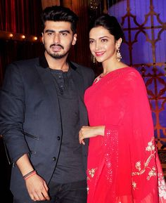 Deepika Padukone and Arjun Kapoor on 'India's Best Cinestars Ki Khoj'.