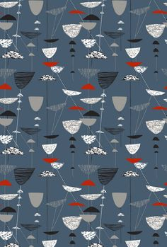 Lucienne Day's career in design spans 60 years and the freshness and originality of her work ensures that it is still relevant to contemporary interiors. Her best known textile design 'Calyx' was launched at the Festival of Britain in 1951
