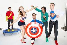 Sheldon,Leonard,Howard Holowitz and Rajesh