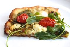 Goat Cheese & Arugula Pizza // shutterbean
