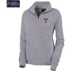 Product: Tarleton State University Women's 1/4 Zip Chelsea Fleece Pullover