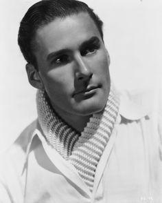 Errol Flynn- like him better with mustache