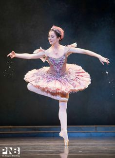 The Fairy of Generosity (PNB). ✯ Ballet beautie, sur les pointes ! ✯