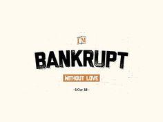 Bankrupt by Josh Warren
