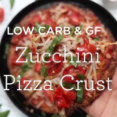 Zucchini Pizza Crust (Low Carb Zucchini Pizza Crust (Low Carb Zucchini Pizza Crust (Low Carb Zucchini Pizza Crust (Low Carb Zucchini Pizza Crust (Low Carb Zucchini Pizza Crust (Low Carb Zucchini P Low Calorie Pizza, Calories Pizza, Low Calorie Recipes, Recipe Using Zucchini, Best Zucchini Recipes, Healthy Recipes, Healthy Meals, Healthy Food, Best Cauliflower Pizza Crust