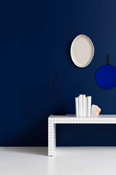 Joss Best Platter & Tinted Mirror by Dan Hocking